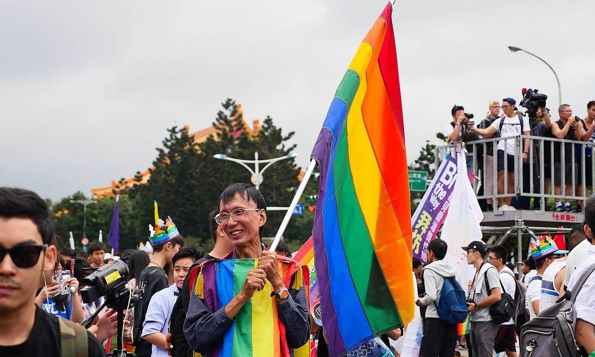 Taiwan ble det første asiatiske landet til å legalisere homofilt ekteskap.