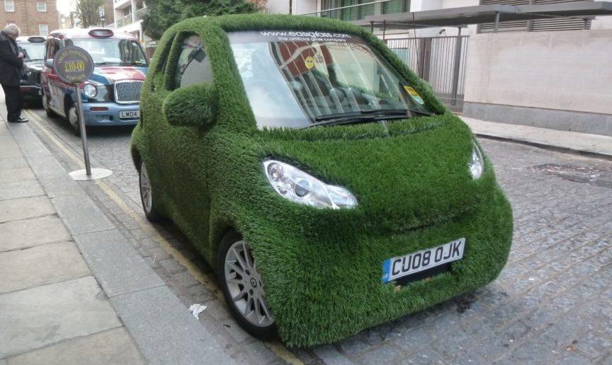 Byer bliver bæredygtige.