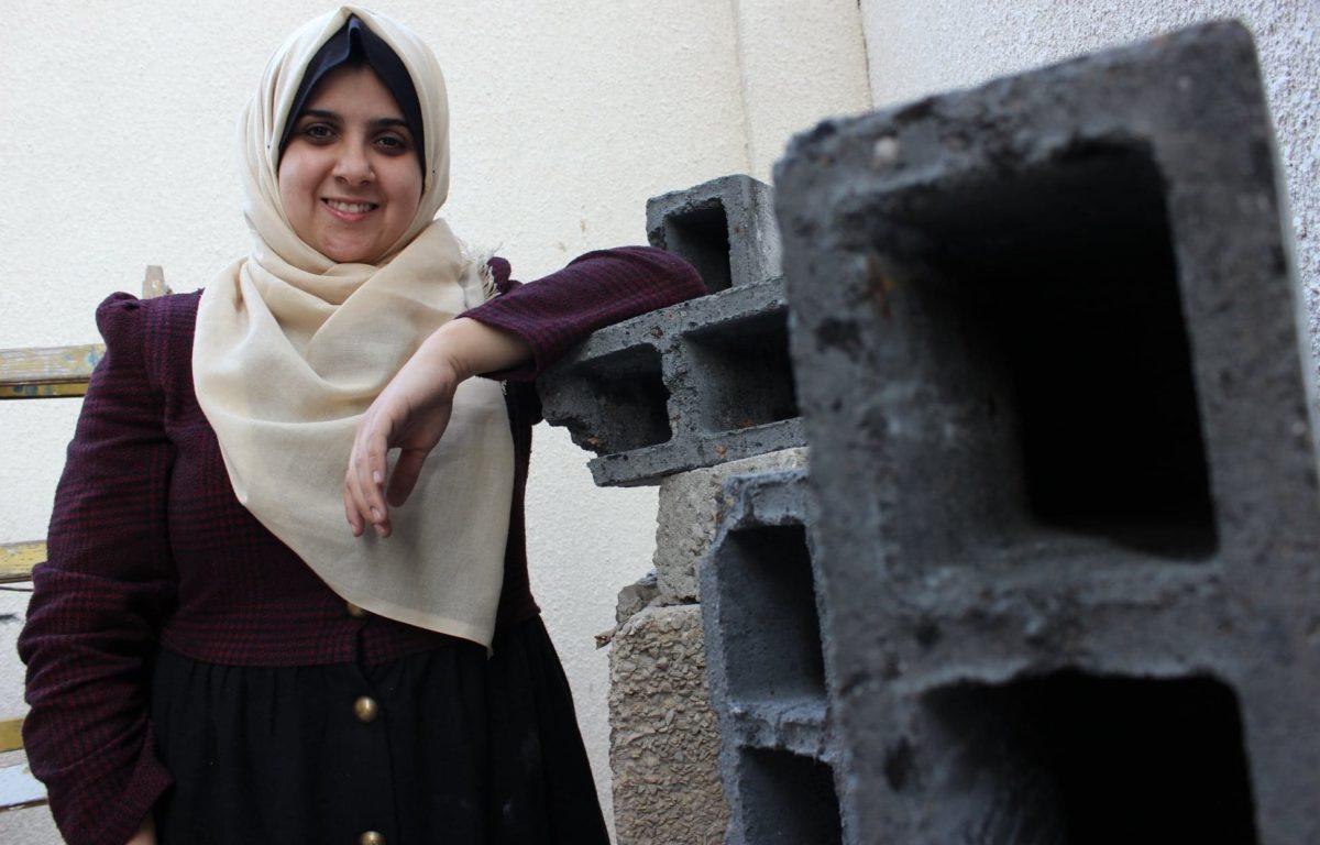 – Invester i folk som meg, så kan vi se hvordan landet ser ut om ti år, oppfordrer Majd Mashharawi (25).