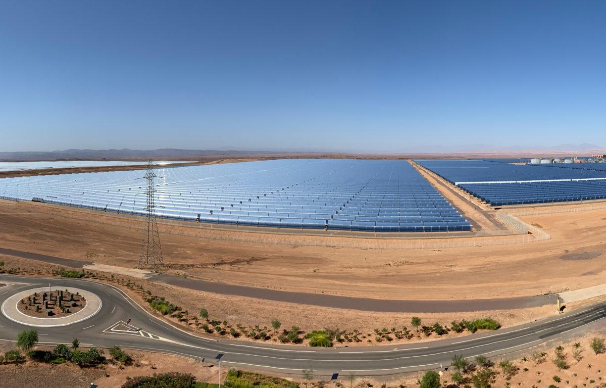 Verdens største solcelleanlegg gir strøm til over en halv million mennesker.