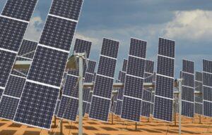 Sol- og vindenergi har stått for veksten av Europas fornybare energi. Foto: CC by James Moran.